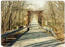 Image of Cedar Creek Bridge - Transportation in Indiana