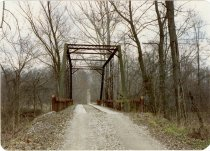 Image of Patoka River Bridge. - Transportation in Indiana