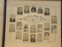 Image of Pleasant Lake High School Graduates - 1950 - Acquisition Photos