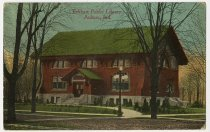Image of Eckhart Public Library Postcard - John Martin Smith Postcard Collection