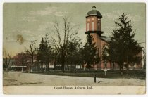 Image of DeKalb County Courthouse - John Martin Smith Postcard Collection