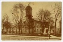 Image of DeKalb County Court House - John Martin Smith Postcard Collection