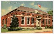 Image of Auburn Post Office Postcard - John Martin Smith Postcard Collection