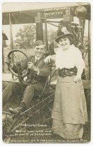 Image of Mr. and Mrs. Art Smith - John Martin Smith Postcard Collection
