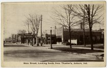 Image of Thatcher's Service Station, Auburn, Indiana Postcard - John Martin Smith Postcard Collection