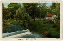 Image of Eckhart Park, Auburn, Indiana Postcard - John Martin Smith Postcard Collection