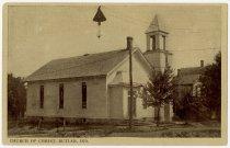 Image of Church of Christ - John Martin Smith Postcard Collection
