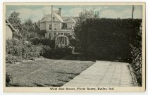 Image of West Oak Street - John Martin Smith Postcard Collection