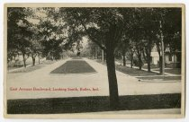 Image of East Avenue Boulevard Looking South - John Martin Smith Postcard Collection