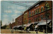 Image of Seventh Street, Auburn, Indiana Postcard - John Martin Smith Postcard Collection