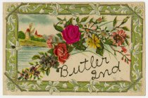 Image of Bright Flowers - John Martin Smith Postcard Collection