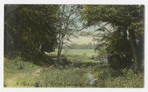 Image of Country scene - John Martin Smith Postcard Collection