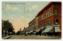 Image of East Seventh Street, Auburn, IN - John Martin Smith Postcard Collection