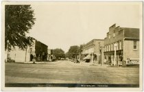 Image of North Main Street in Waterloo, Indiana Postcard - John Martin Smith Postcard Collection