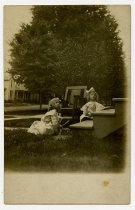 Image of Two Young Girls - John Martin Smith Postcard Collection