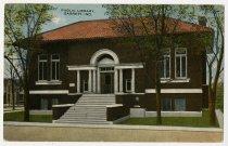 Image of Garrett Public Library - John Martin Smith Postcard Collection
