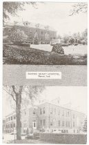 Image of Sacred Heart Hospital - John Martin Smith Postcard Collection