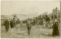 Image of Train Wreck in Waterloo, Indiana Postcard - John Martin Smith Postcard Collection