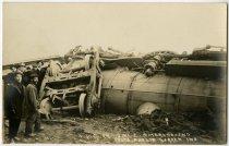 Image of Train Wreck Photo - John Martin Smith Postcard Collection