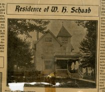 Image of October 16, 1902, Auburn Weekly Courier - Residence of W. H. Schaab - Auburn Weekly Courier - October 16, 1902