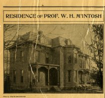 Image of October 16, 1902, Auburn Weekly Courier - Residence of Prof. W. H. McIntosh - Auburn Weekly Courier - October 16, 1902