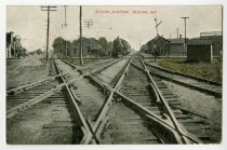 Image of Auburn Junction -- Aburn, Ind. - John Martin Smith Postcard Collection