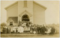 Image of Church Group - DeKalb County, Indiana - John Martin Smith Postcard Collection
