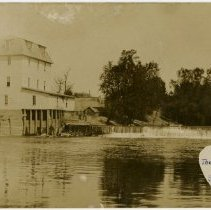 Image of The Water Mill, Saint Joe, Indiana - John Martin Smith Postcard Collection