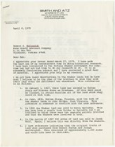 Image of Letter to Robert S. McCormick from JMS - John Martin Smith Shaker Collection