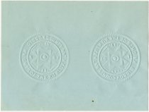 Image of Gibson County KKK Seal - John Martin Smith Ku Klux Klan Collection