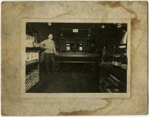 Image of Billiards or Pool Hall in Butler, Indiana - John Martin Smith Miscellaneous Collection