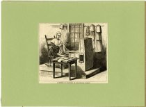 Image of A Mender of Clothing of the Church Family - John Martin Smith Shaker Collection
