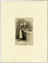 """Image of """"Cutting Bread"""" - John Martin Smith Shaker Collection"""