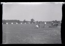 Image of People on an Archery Field - John Martin Smith Miscellaneous Collection