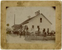 Image of The old creamery; planning mill - John Martin Smith Miscellaneous Collection