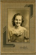 Image of Portrait of a young girl; in a folding case - John Martin Smith Miscellaneous Collection