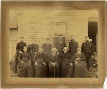 Image of Family - four men and seven women - John Martin Smith Miscellaneous Collection