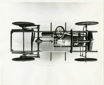 Image of Drawing of McIntyre Rolling Chassis Frame - John Martin Smith Miscellaneous Collection