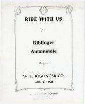 Image of W. H. Kiblinger Company Catalog - John Martin Smith Miscellaneous Collection