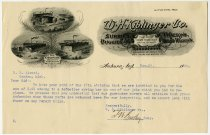 Image of Business letter from W. H. Kiblinger Company - John Martin Smith Miscellaneous Collection