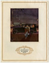 Image of Auburn Six Supreme Sedan - John Martin Smith Miscellaneous Collection