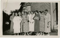 Image of Group of women    - John Martin Smith Miscellaneous Collection
