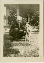 Image of A man and a dog - John Martin Smith Miscellaneous Collection