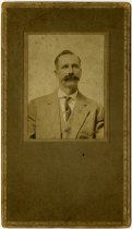 Image of Portrait of a man with a mustache - John Martin Smith Miscellaneous Collection