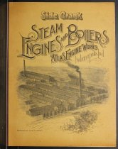 Image of Side Crank: Steam Engines and  Boilers; Atlas Engine Works, Indianapolis, Ind. - John Martin Smith Indiana Imprints Collection