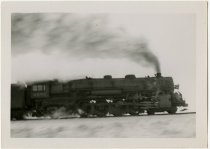 Image of Side view of steam locomotive Engine No. 2852 - John Martin Smith Miscellaneous Collection