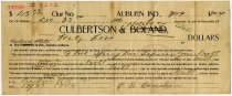 Image of Promissory Note to Culbertson Hardware - John Martin Smith Miscellaneous Collection
