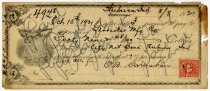 Image of Promissary Note - O B Carnahan - John Martin Smith Miscellaneous Collection