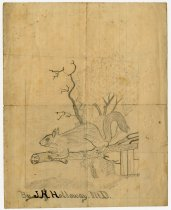 Image of Pencil and Ink drawings - John Martin Smith Miscellaneous Collection