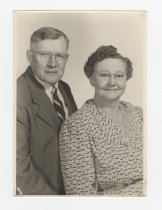 Image of Photograph of a Man and Woman - Extraordinary Hoosiers: Don Lash Collection